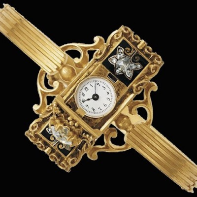 Patek Philippe wrist watch for Countess Koscowicz