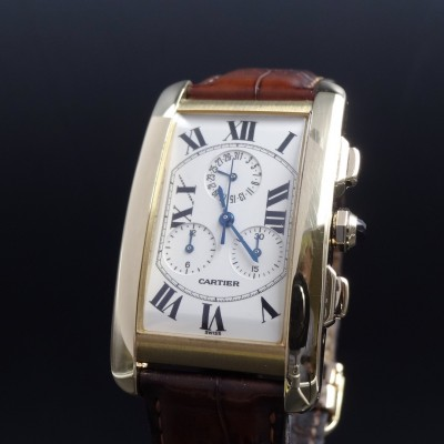 Cartier Tank Americaine Chrono